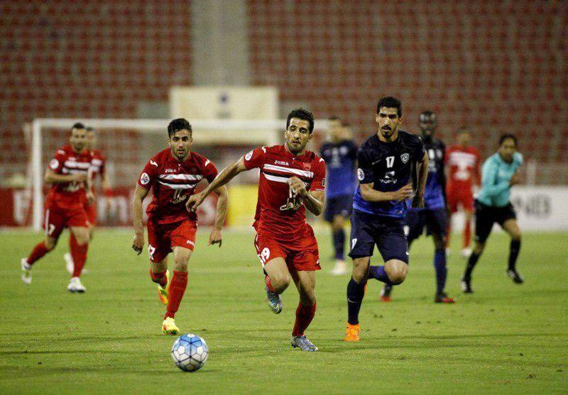 ترکیب تیم فوتبال پرسپولیس برای بازی با الریان اعلام شد