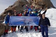 صعود زمستانه کارکنان شرکت مخابرات ایران به قله الوند