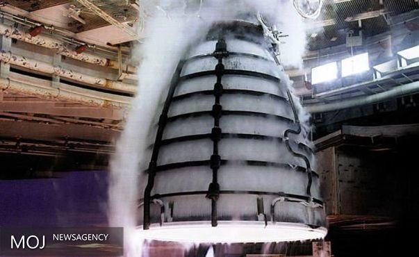 موتور قدرتمندترین راکت دنیا با موفقیت آزمایش شد
