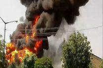 انفجار در یک ساختمان در خیابان سپهبد قرنی