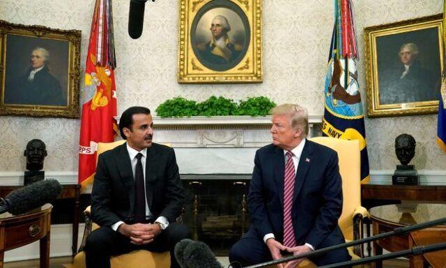 امیر قطر و ترامپ دیدار میکنند