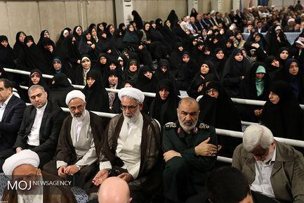 دیدار مسئولان نظام، سفیران کشورهای اسلامی و اقشار مختلف مردم با مقام معظم رهبری