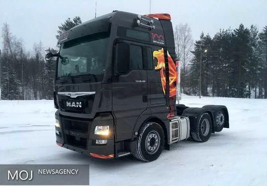 کامیون هشت چرخ با قابلیت های ویژه طراحی شد