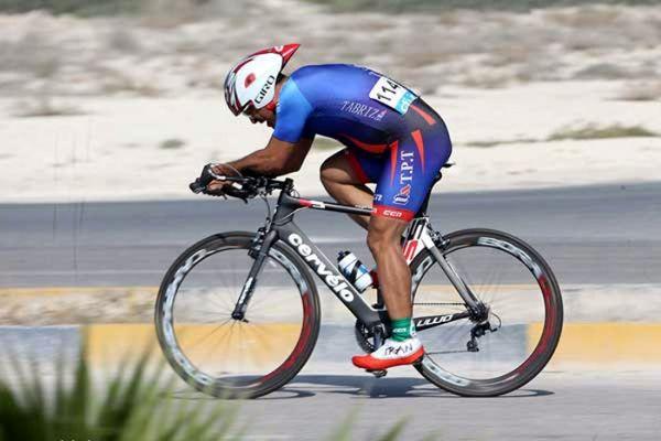 دوچرخه سوار اردبیلی نایب قهرمان رشته تعقیبی انفرادی شد