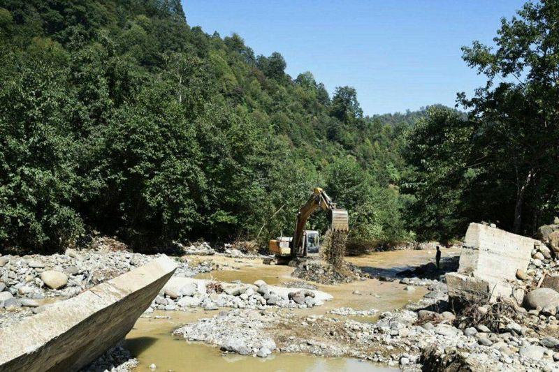 خسارت بیش از 227 میلیارد ریال به راه های گیلان در سیلاب اخیر