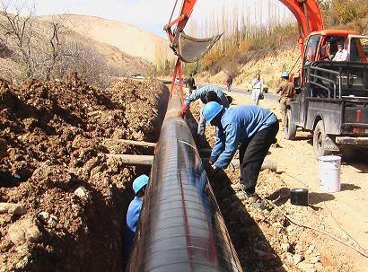 12 هزار متر لوله گذاری برای توسعه شبکه های آبرسانی روستایی گیلان