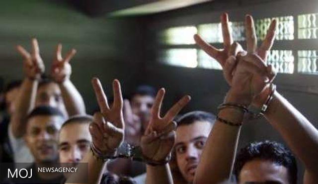 اسرای فلسطینی دربند رژیم صهیونیستی اعتصاب غذا کردند