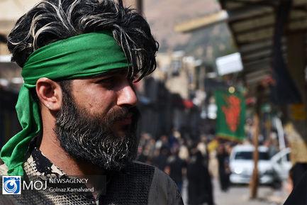 آیین گل مالی و عزاداری روز عاشورا در خرم آباد