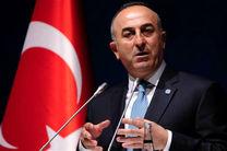 وزیر خارجه ترکیه وارد بغداد شد
