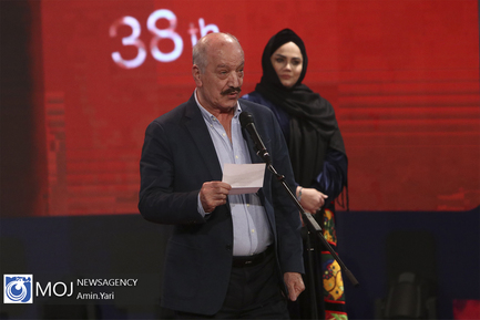 اختتامیه سی و هشتمین جشنواره فیلم فجر - سعید راد