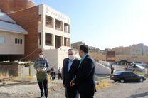 افتتاح فاز اول ساختمان جدید پزشکی قانونی سنندج در هفته دفاع مقدس