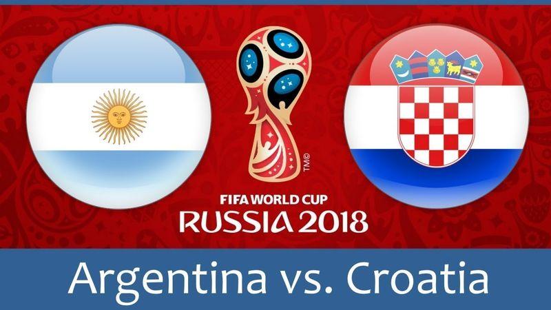 ساعت بازی آرژانتین و کرواسی در جام جهانی