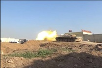 ارتش سوریه ماشین جنگی داعش را در جنوب دیر الزور منهدم کرد