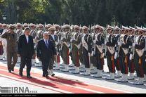 استقبال جهانگیری از حیدرالعبادی نخست وزیر عراق