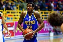 رابینسون آمریکایی از تیم بسکتبال پتروشیمی جدا شد