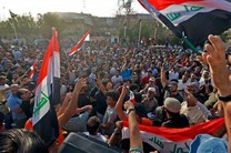 تظاهرات گسترده مردم عراق در بغداد