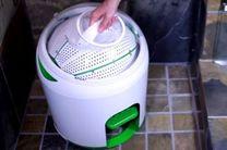 ماشین لباسشویی پدالی، بدون نیاز به پودر