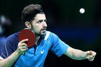 نیما عالمیان به جمع ۸ بازیکن برتر کاپ تنیس روی میز آسیا صعود کرد
