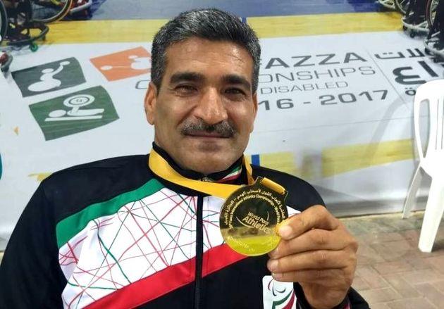 ورزشکار دزفولی قهرمان مسابقات دو و میدانی معلولان جهان شد