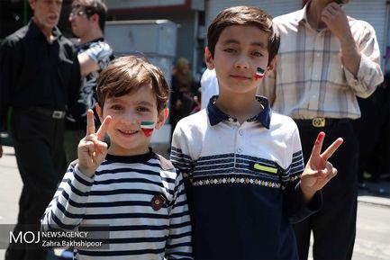 راهپیمایی بزرگداشت روز جهانی قدس در آذربایجان شرقی