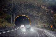 بارش باران و مه گرفتگی در برخی از جاده های شمالی کشور