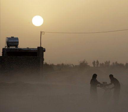 پیش بینی هوای خوزستان، گرمای 50درجه با چاشنی خاک