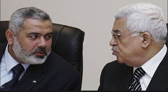 رئیس دفتر سیاسی جنبش حماس با محمود عباس دیدار می کند
