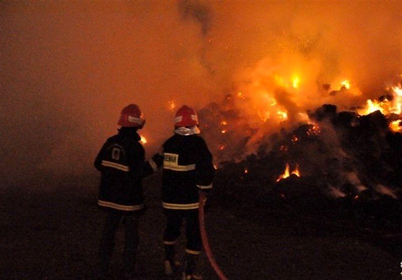 آتش سوزی در اداره کل ورزش و جوانان خوزستان