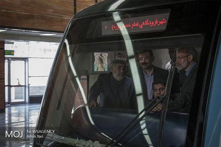 افتتاح+خط+8+مترو+تهران