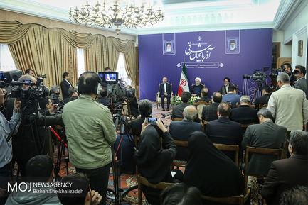 نشست خبری رییس جمهوری در استان آذربایجان شرقی