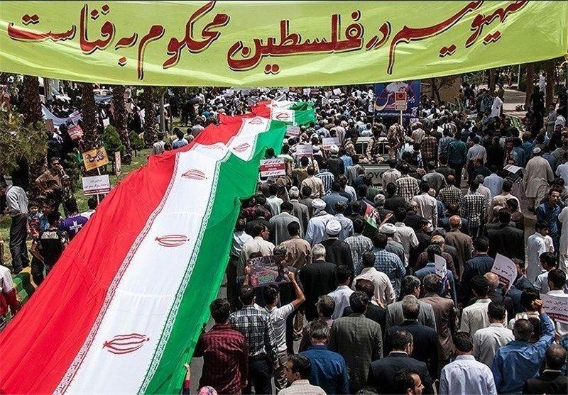 مسیرهای راهپیمایی روز جهانی قدس در خوزستان مشخص شد