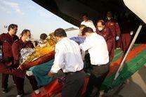 اعزام مصدومان به تهران و بستری شدن آنها در بیمارستان / دو نفر از مصدومان جان باختند