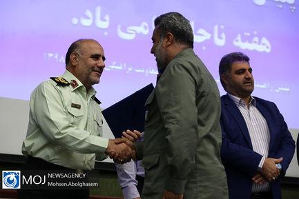 تجلیل از نمونههای ترافیکی تهران