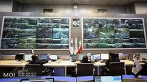 وضعیت ترافیک معابر شهر تهران در 19 آذر