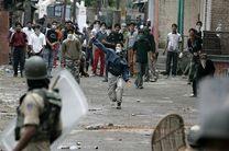 درگیری های تازه در کشمیر هند یکصد زخمی برجا گذاشت