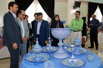 افتتاح نمایشگاه اقتصادمقاومتی درامامزاده زینب بنت موسی بن جعفر (ع) اصفهان