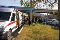 واژگونی خودروی پراید در خیابان ساحلی خرمآباد / دو نفر مجروح شدند