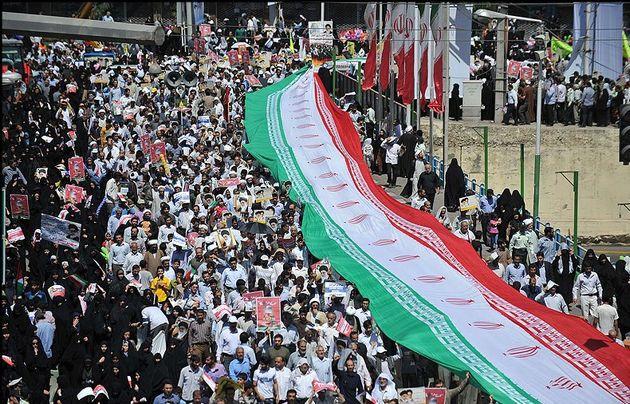 خدمات اورژانس به ۷۵۸ نفر از راهپیمایان روز قدس در تهران