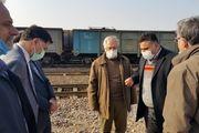 محل سوختگیری ایستگاه گارمانوری راه آهن استان قم  مورد بازدید قرار گرفت