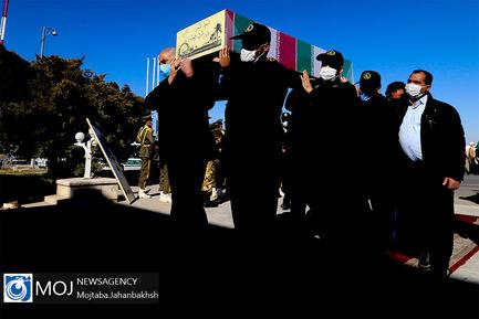 استقبال از پیکر شهدای گمنام دوران دفاع مقدس در اصفهان