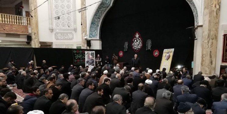 تشییع پیکر دبیرکل فقید موتلفه اسلامی آغاز شد/ قرائت نماز از سوی آیت الله موحدی کرمانی