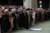 اقامه نماز عید فطر به امامت رهبر انقلاب آغاز شد