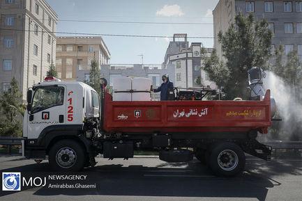 ضدعفونی و گندزدایی محلات جنوب شرق تهران