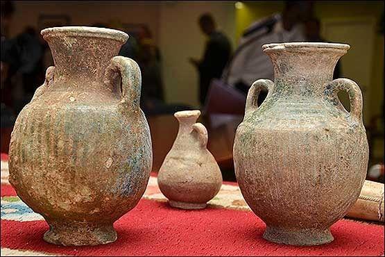 نمایش 14 قلم از اشیای تاریخی هرمزگان در موزهی ملی ایران