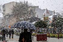 برف و باران مهمان آخر هفته کرمانشاه