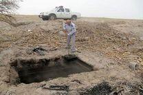 تخریب یک باب کوره ذغال سازی غیرمجاز در شهرستان بندرلنگه