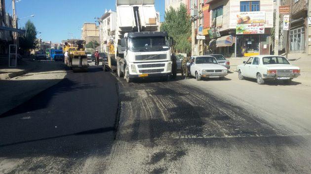 سه کیلومتر از جاده اصلی ناحیه منفصل نایسر لکه گیری و بهسازی شد