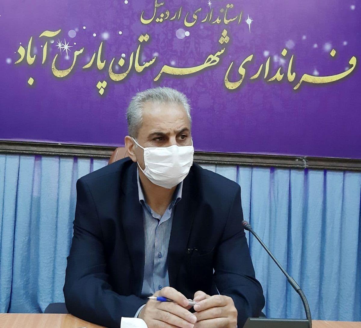 پیش بینی ۱۷۱شعبه اخذ رأی در پارس آباد مغان / ۴هزار نفر مشارکت دارند