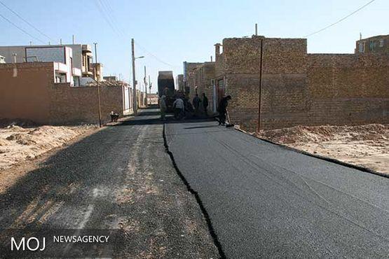 رشد دو برابری در اجرای عملیات آسفالت کرمانشاه