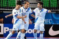 «چونبوری» با شکست نماینده امارات سوم شد